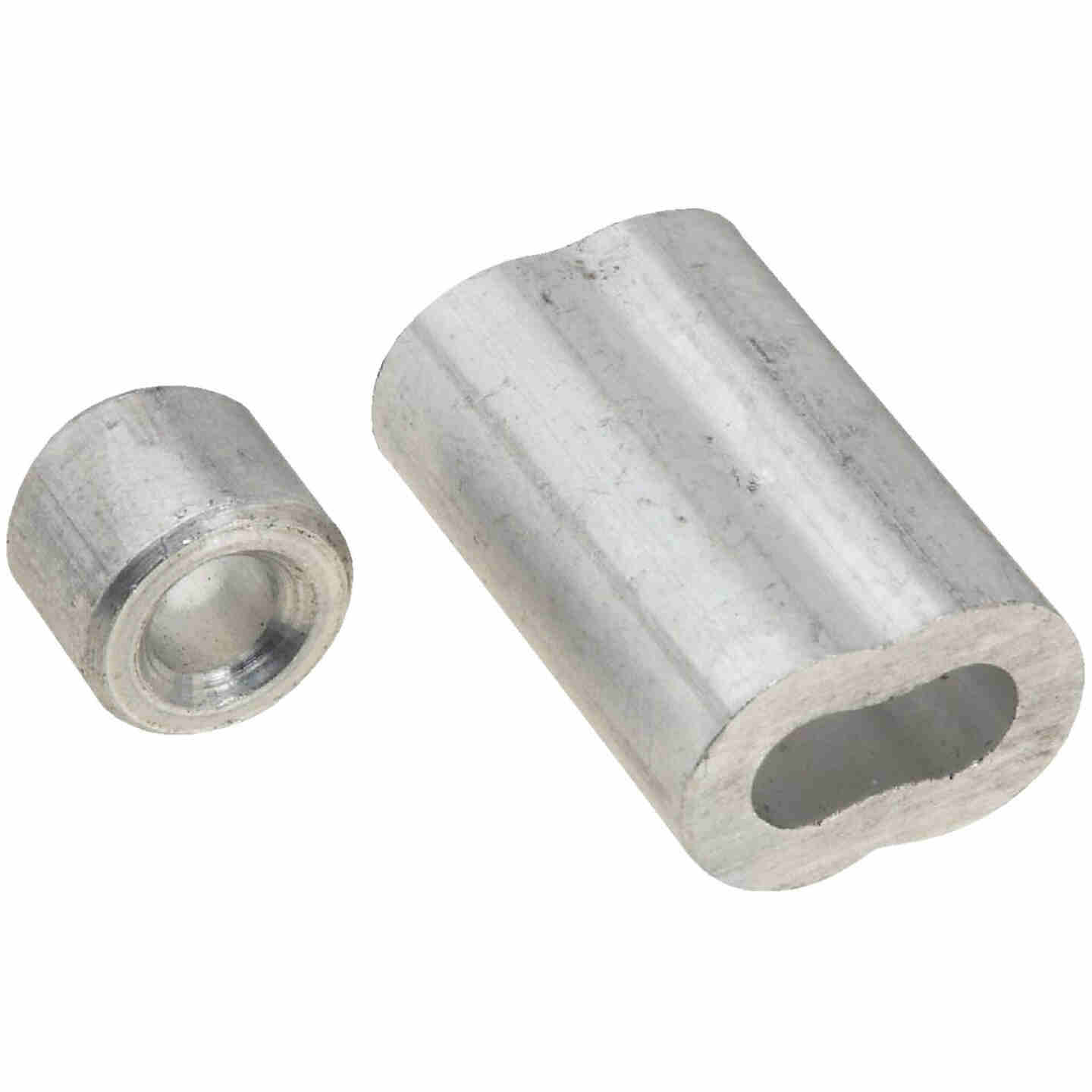 "Prime-Line Cable Ferrules and Stops, 3/16"", Aluminum Image 1"