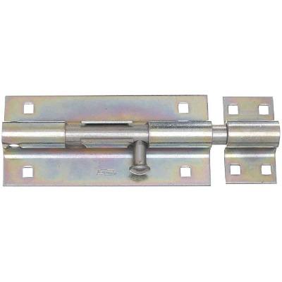 National 8 In. Zinc Extra Heavy-Duty Door Barrel Bolt