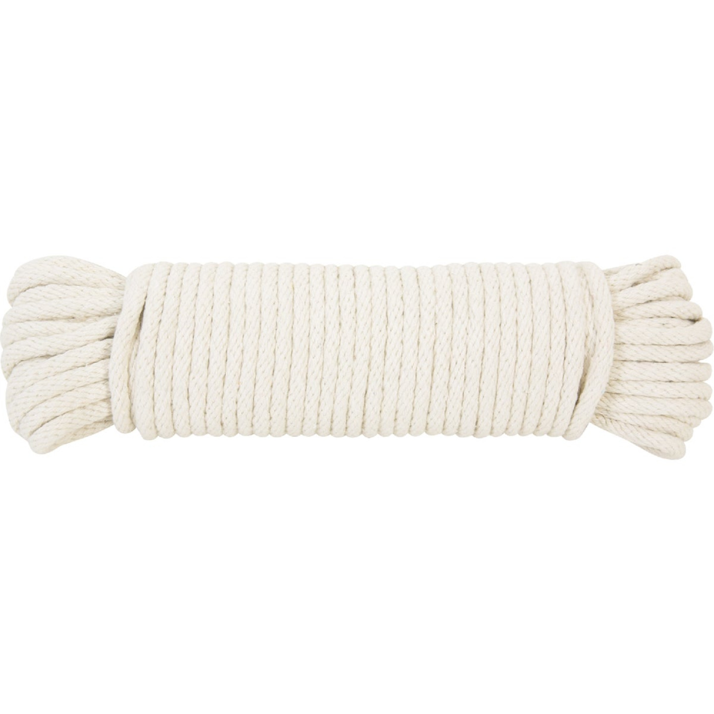 Do it 5/16 In. x 100 Ft. White Solid Braided Cotton Sash Cord Image 2