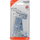 National 5 In. Light Duty T-Hinge With Screw (2 Count) Image 2