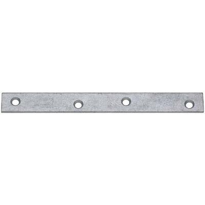 National Catalog 118 8 In. x 7/8 In. Galvanized Steel Mending Brace