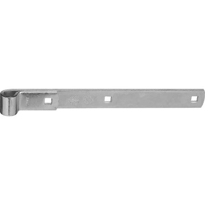 National 12 In. Zinc Hinge Strap