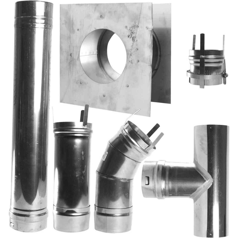 MR. HEATER Horizontal Garage Heater Vent Kit (7-Piece) Image 1