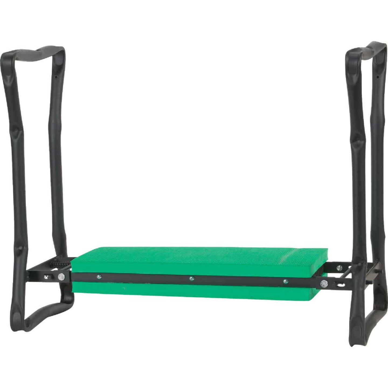 Best Garden Green Foam Pad w/Black Steel Frame Garden Kneeler Bench Image 13