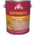 Duckback SUPERDECK VOC Transparent Exterior Stain, Canyon Brown, 1 Gal. Image 1